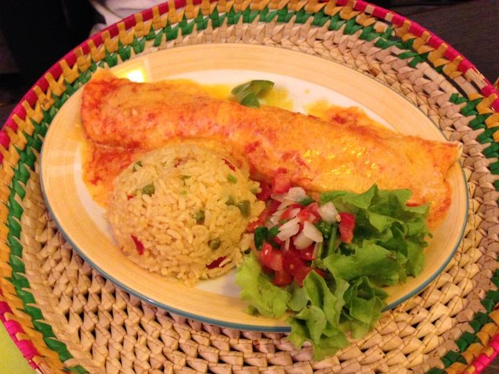 Enchiladas poulet - el rancho - les restos de boulogne