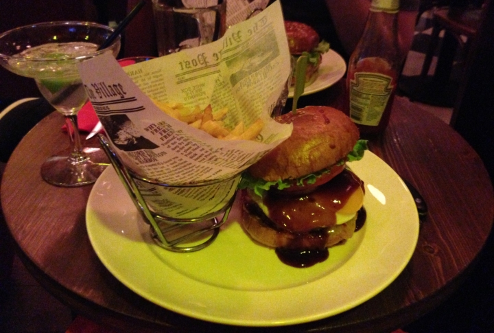 texan burger doddy's coffee - les restos de boulogne