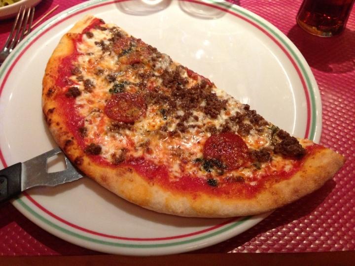 pizza campione auberge de la reine - les restos de boulogne