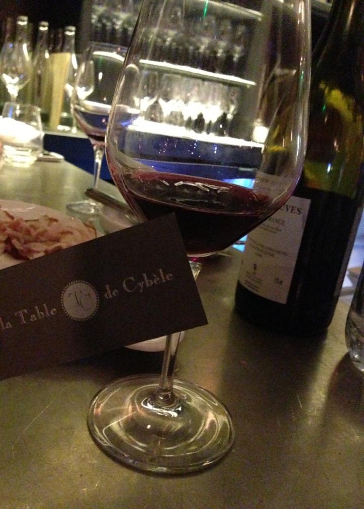 la table de cybèle large choix de vins - les restos de boulogne