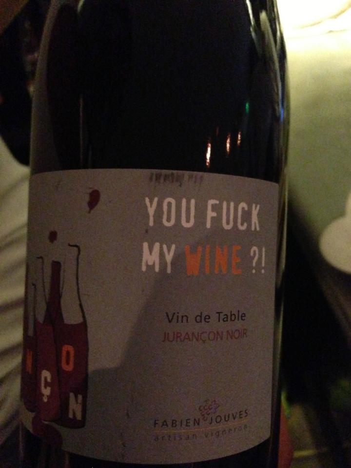 you fuck my wine la table de cybèle