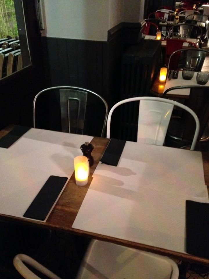 table- 158 côté psicine