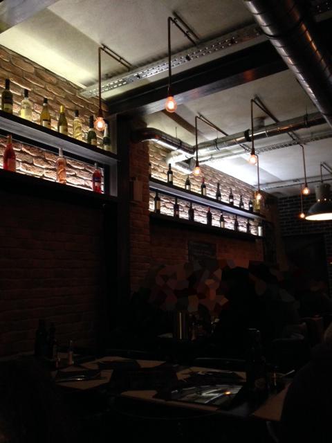 intérieur resto Tribeca - les restos de boulogne