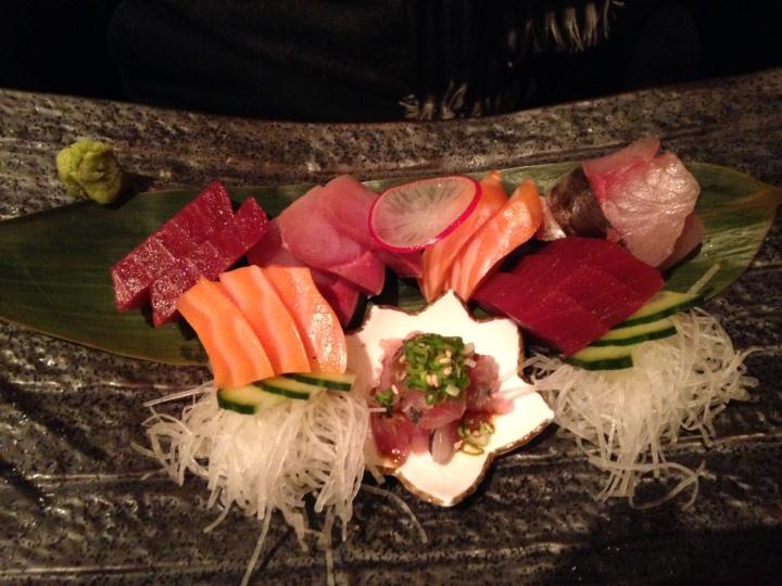 sashimis variés - shiki