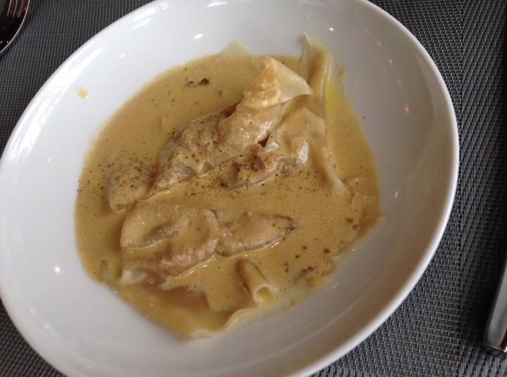 Ravioles de foie gras - au comte bistrot