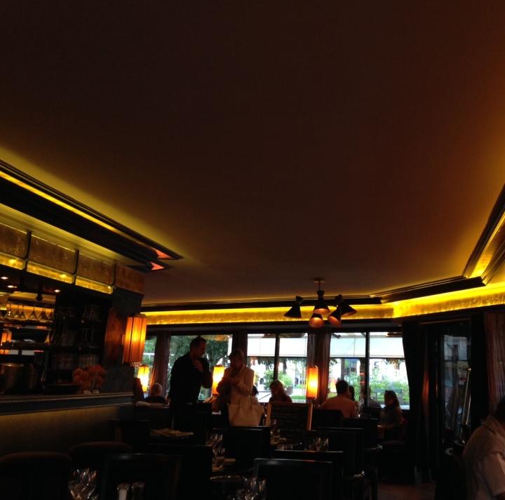 intérieur café du théatre