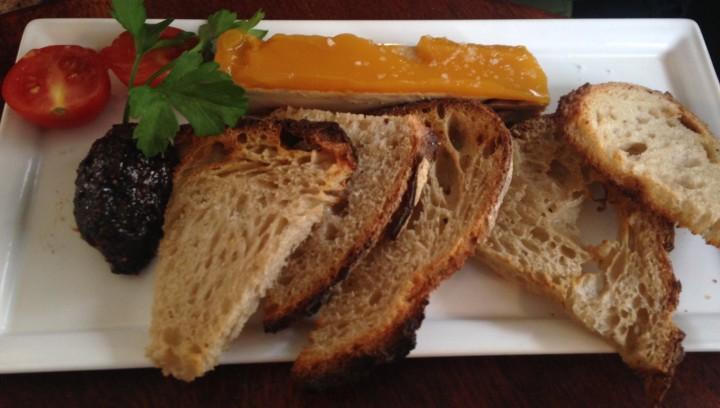 foie gras de canard le grillon - restos de boulogne
