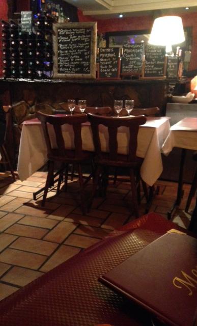 intérieur restaurant des délices - les restos de boulogne