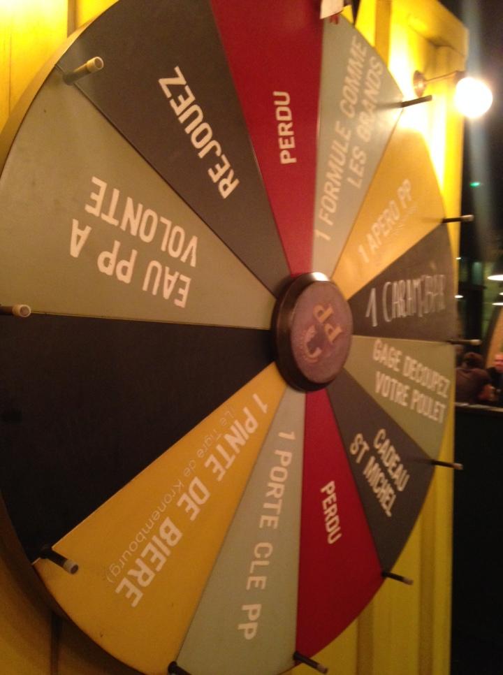 la roue de la fortune poulet purée