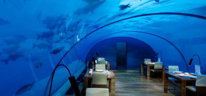ithaa restaurant Maldives
