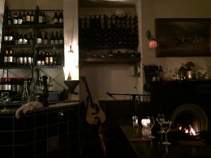 Millstone restaurant Dublin - like home concert