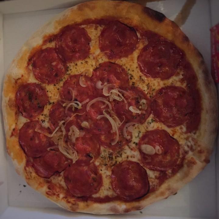 Pizza La chorizo - pizzachez nous - lesrestos de boulogne