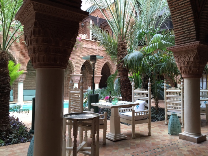 Le sultana - patio - piscine - marrakech
