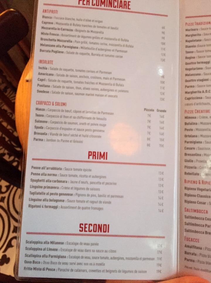 menu 1 famigila rebellato boulogne