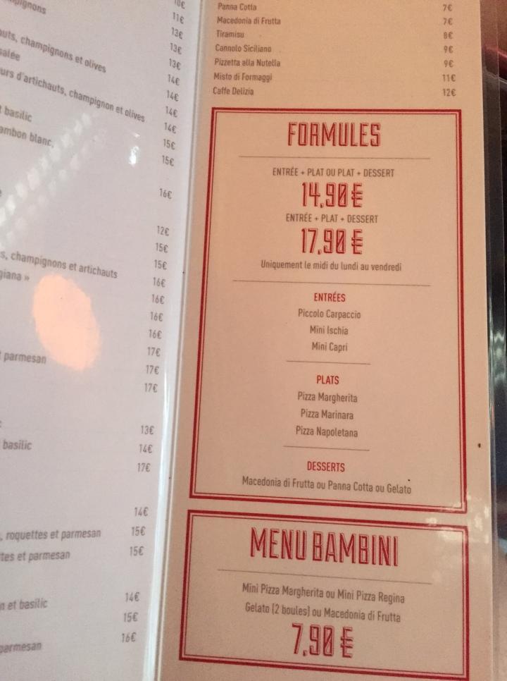 menu 3 famigila rebellato boulogne